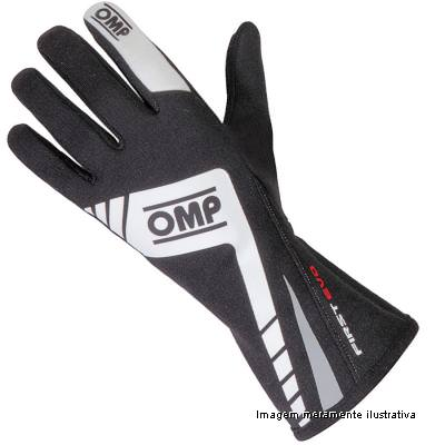 Luva Racing Profissional First Evo OMP